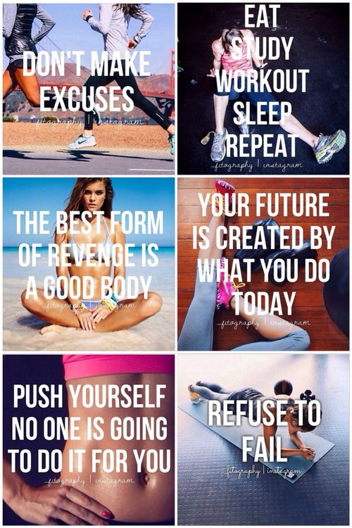 in-pursuit-of-fitness:PUSH YOURSELF! on We Heart It -...
