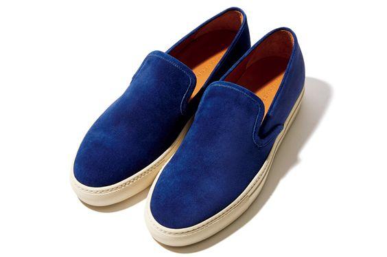 スニーカーは深みのあるスエードを──靴&バッグ ベストヒットカタログ Vol.3|ワードローブ(メンズファッションアイテム)|GQ JAPAN