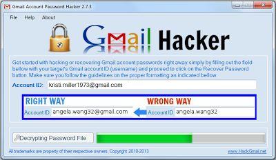 gmail password hacking software free download full version