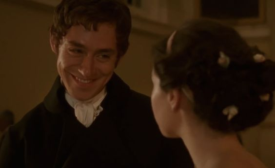 Classic Romantic Moment: Northanger Abbey's Mr. Tilney and Catherine Banter At A Ball: