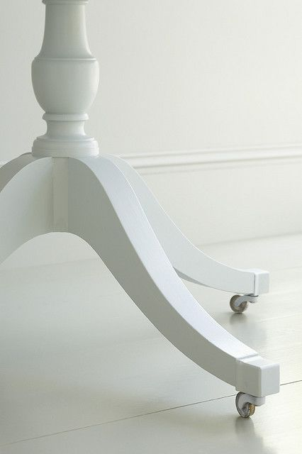Table legs in Little Greene Normandy Grey