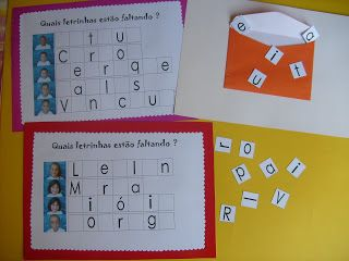 ALFABETIZAÇÃO CEFAPRO DE PONTES E LACERDA : Trabalhando com Alfabeto Móvel