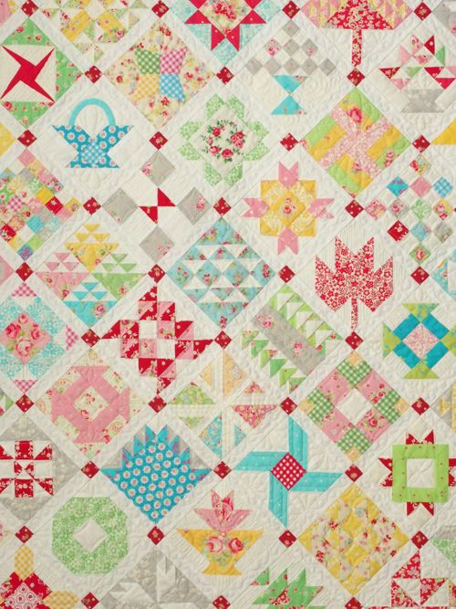 Pretty by Hand - Pretty By Hand Farmer's Wife Quilt