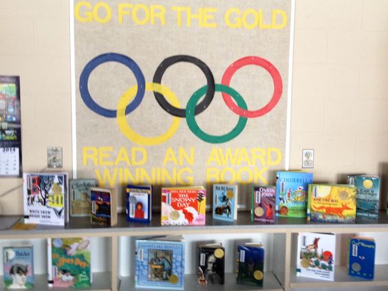 Olympic Themed Elementary School Bulletin Board Quot Go For