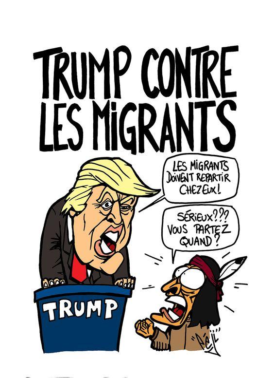 Connu Péji - Caricature : Donald Trump trompe énormément   Caricatures  PO84