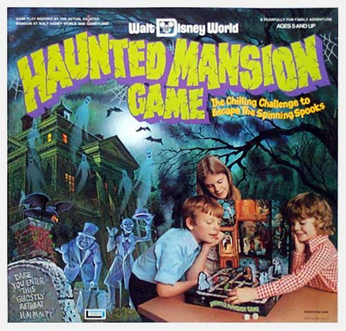 Haunted Mansion board game...I received this at a union Christmas party as a young kid, and loved it so much! Wish I'd kept it!