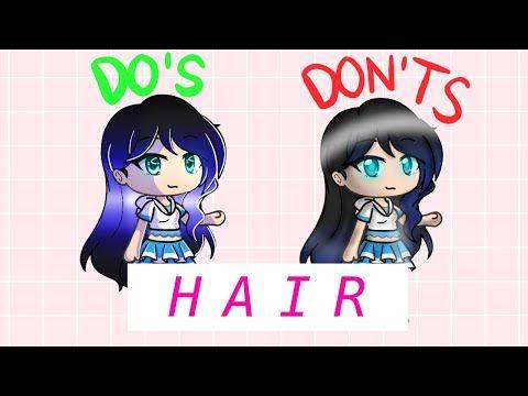 How I Shade Hair Gachalife Tutorial Easy Youtube Easy Youtube Tutorial Youtube