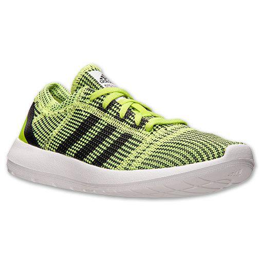 Women's adidas Element Refine JS Running Shoes| Finish Line | Slime/Black/Black