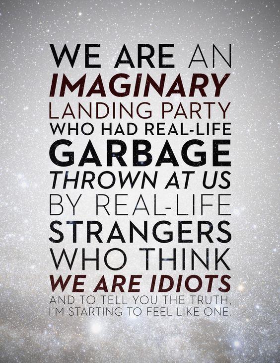 Sad words from Sheldon Cooper...