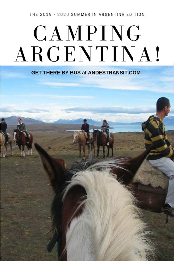 Camping in Argentina (Pinterest)