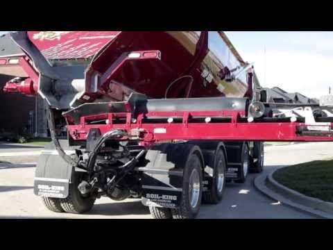 Soil King Extreme Canamerican Stone Spreader Extreme Monster Trucks Soil
