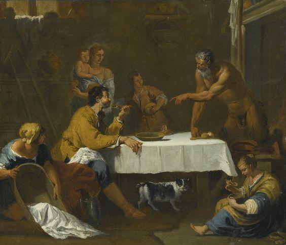 ricci, sebastiano a scene from aeso | allegory | sotheby's n09515lot7y564en:
