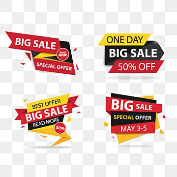 Colorful Shopping Sale Banner Sale Banner Offer Png And Vector With Transparent Background For Free Download Di 2021 Spanduk Desain Banner Ilustrasi