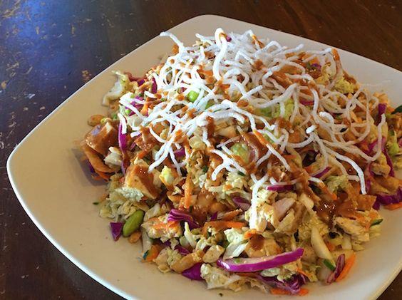 Top Secret Recipes | California Pizza Kitchen Thai Crunch Salad Copycat Recipe