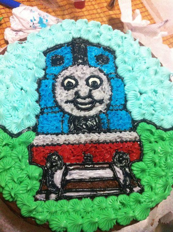 Thomas the Tank Engine Cake: