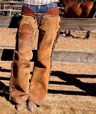 Cowboy Chaps Stock Photos -