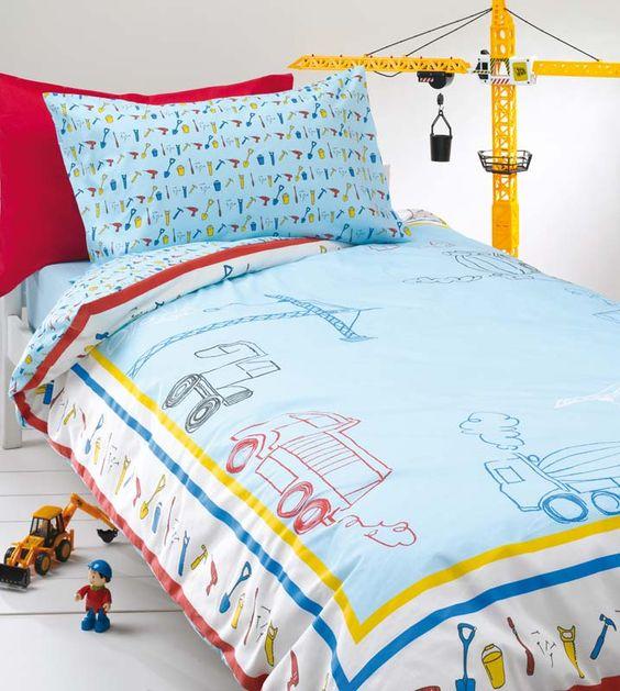 Details about Boys Blue Bedding Set / Bed Linen, Duvet Cover or ...