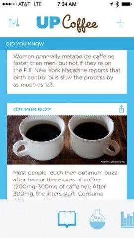 UP Coffee è una nuova applicazione appena sbarcata su App Store che comunica con il Jawbone UP, bracciale smart per iOS e Android,che ci aiuta a capire come e quanto la caffeina, assunta durante il giorno, influisce sul sonno.