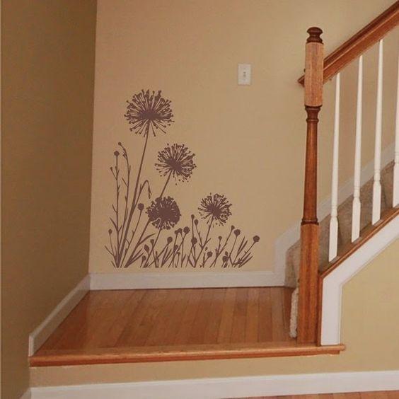 Deliciously at Home - Decor - Organization - Wellness: Decoração com adesivos de parede (vinil)