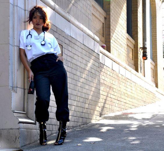 nurse + fashion = kim gaddi.