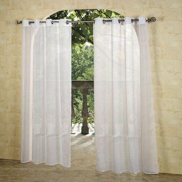Escape Outdoor Sheer Grommet Panels Grommet Curtains Curtain Panels And Ps