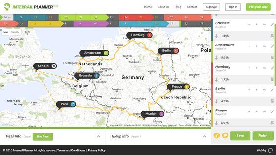 Interrail Planner Launches - https://www.compareholidaymoney.com/blog/interrail-planner-launches/ #Interrailing #TrainPlanner #RailPlanner