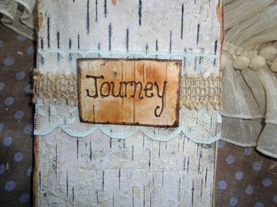 Birch Bark & Burlap Journey Travel Journal