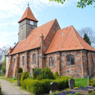 Middelhagen auf Rügen. Kirche