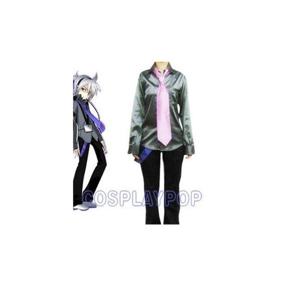 Aku Yamine in Vocaloid Cosplay Costume via Polyvore