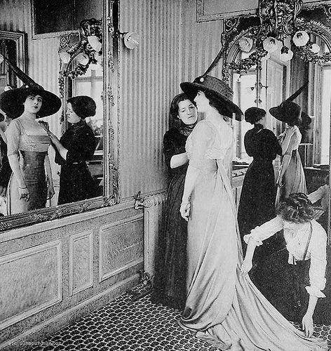 House of Paquin salon, Paris 1910