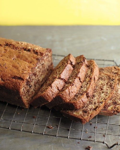 Banana-Chocolate Bread: Chocolate Bread, Overripe Banana, Quick Bread, Chocolate Banana Bread, Banana Chocolate, Breads Muffins