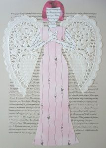 make your own affirmation paper doll