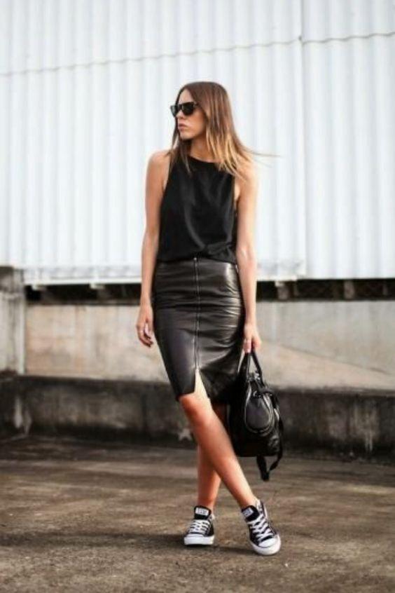 Look moderno preto em varias ocasiões