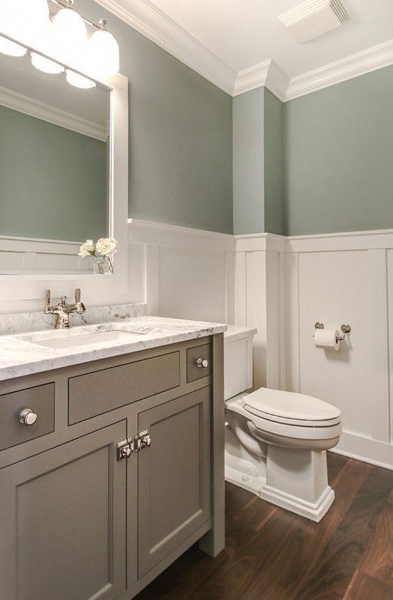 17 Best Bathroom Renovation Using Attractive Bathroom Paint