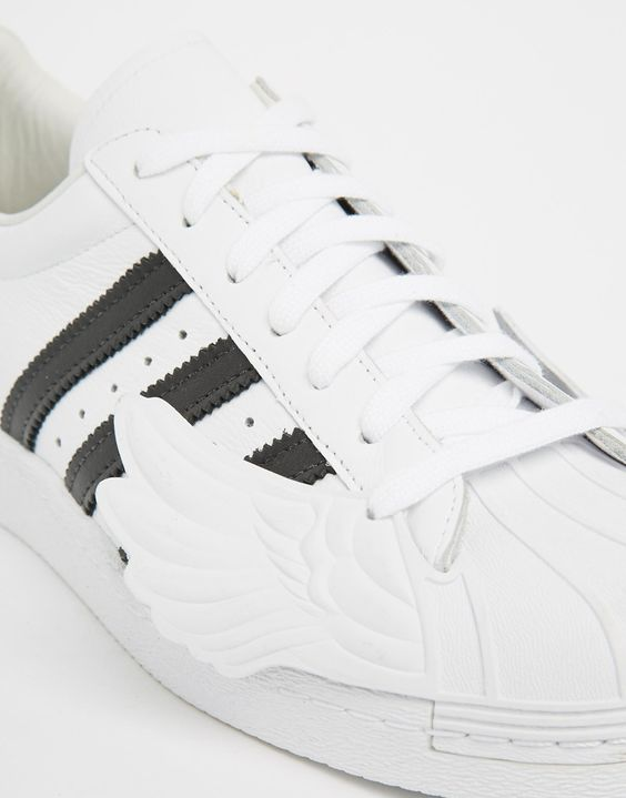 Image 2 of adidas Originals by Jeremy Scott Superstar Wings Sneakers