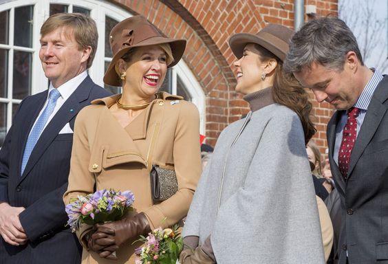 Desde que es princesa, Mary ha entablado especial amistad con algunos de los miembros de la realeza europea, en especial con Máxima de…