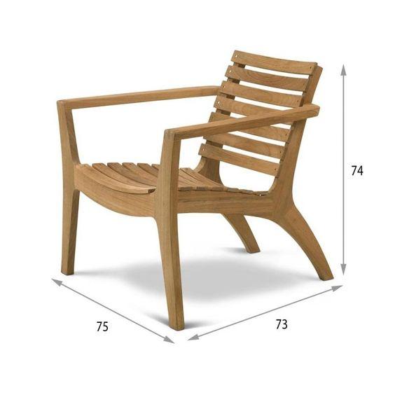 Regatta Lounge Stuhl von Skagerak