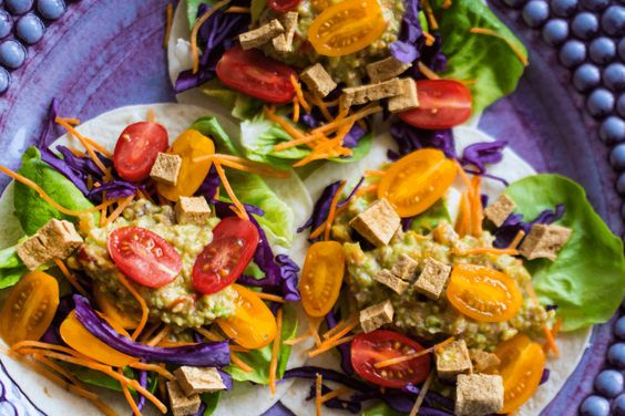 Holy Guacamole Wraps (met wortel en tofu) - Daily Dishes in Dutchland