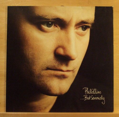 PHIL-COLLINS-But-seriously-Vinyl-LP-Another-Day-in-Paradise-All-of-my-Life