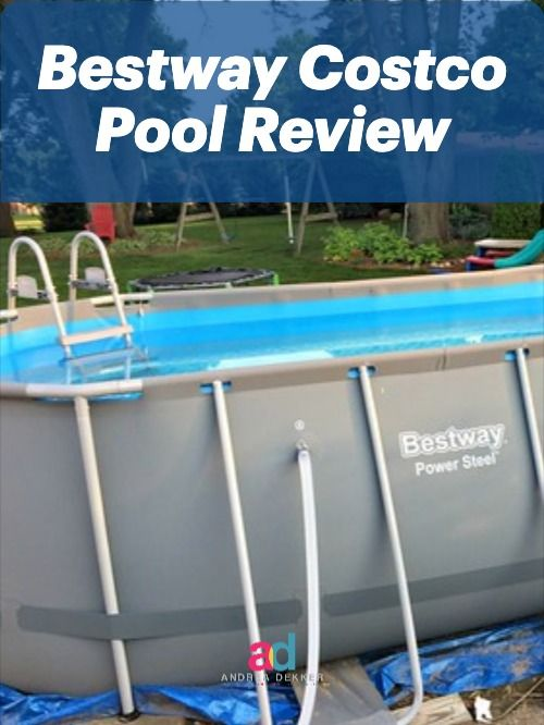 We Bought A Costco Pool Here S Everything You Need To Know Pool Backyard Pool Pool Installation