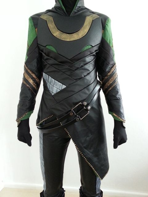 This guy gave a runthrough of how they made the entirety of loki's costume
