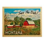 Montana Save The Date Farm Barn Rustic Postcard  Montana Save The Date Farm Barn Rustic Postcard  $1.20  by Flospaperie   More Designs http://bit.ly/2g4mwV2 #zazzle