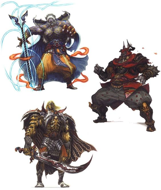 Final Fantasy XIV: A Realm Reborn - Bosses