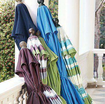Outdoor Market Umbrellas - contemporary - outdoor umbrellas - Grandin Road