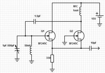 Help with ultra wideband oscillator circuit