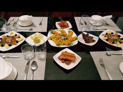 4 مائدة افطار رمضان جزائرية باطباق تقليدية عصرية Youtube Food Table Settings Table