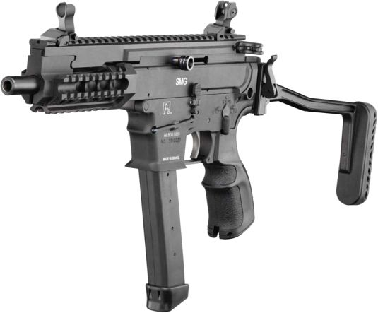 Gilboa 9mm AR-type submachine gun:
