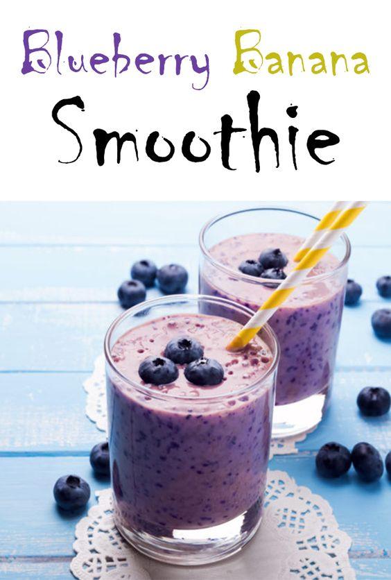 Blueberry Banana Smoothie Recipe – Food Diet Secret