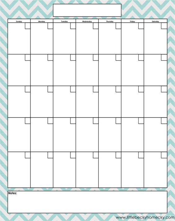 Diy Dry Erase Calendar  Monthly Calendar Template Pdf And Template