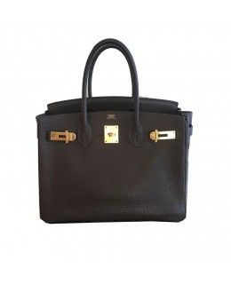 Bolsa Hermès Birkin 35 Couro Togo  Marrom